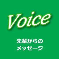Voice|先輩からのメッセージ